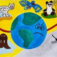 """Районный онлайн-конкурс творческих работ """"Моя Земля - мой дом"""""""
