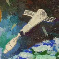 Районный конкурс детского рисунка «Космос глазами детей»