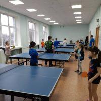 Районный открытый турнир по настольному теннису