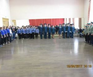I этап финала игры «Зарница-2017» и XXII соревнований «Школа безопасности»