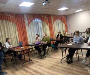 Мастер-класс в Совете старшеклассников